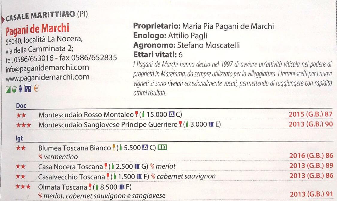 ToscanArt Magazine Pagani de Marchi veronelli