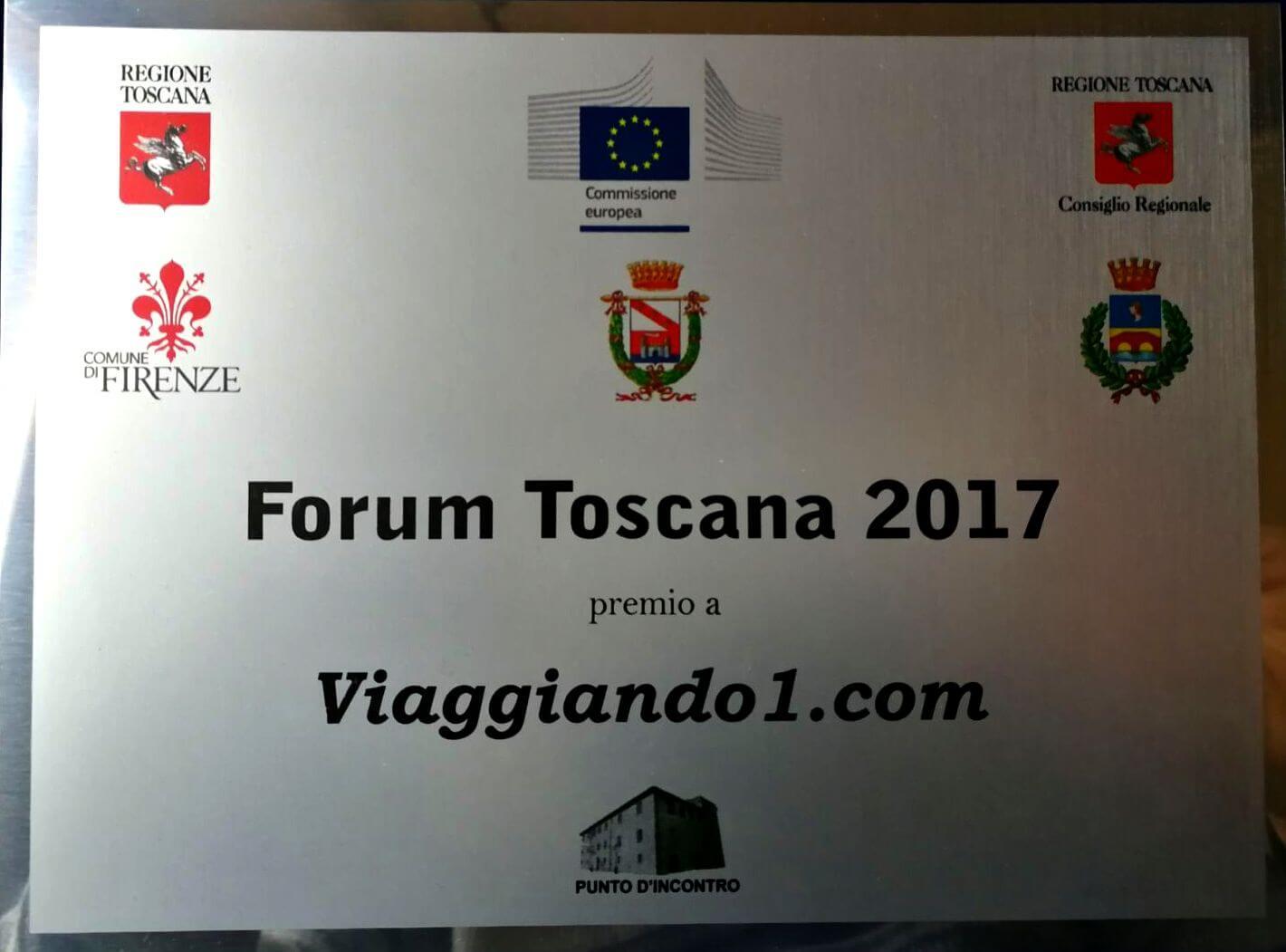 ToscanArt Magazine viaggiando1 Targa